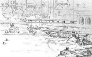 Vacation Sketch